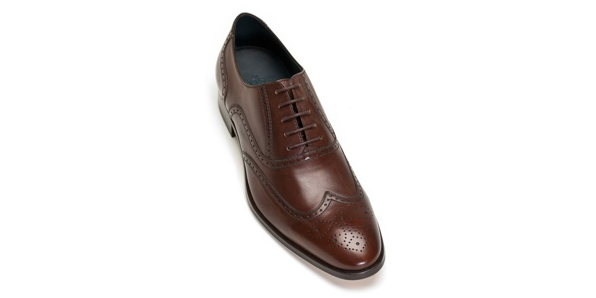 Cooper brown leather brogues