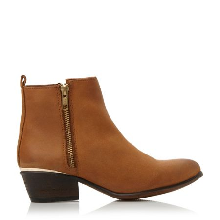 Steve Madden November zip detail ankle boots