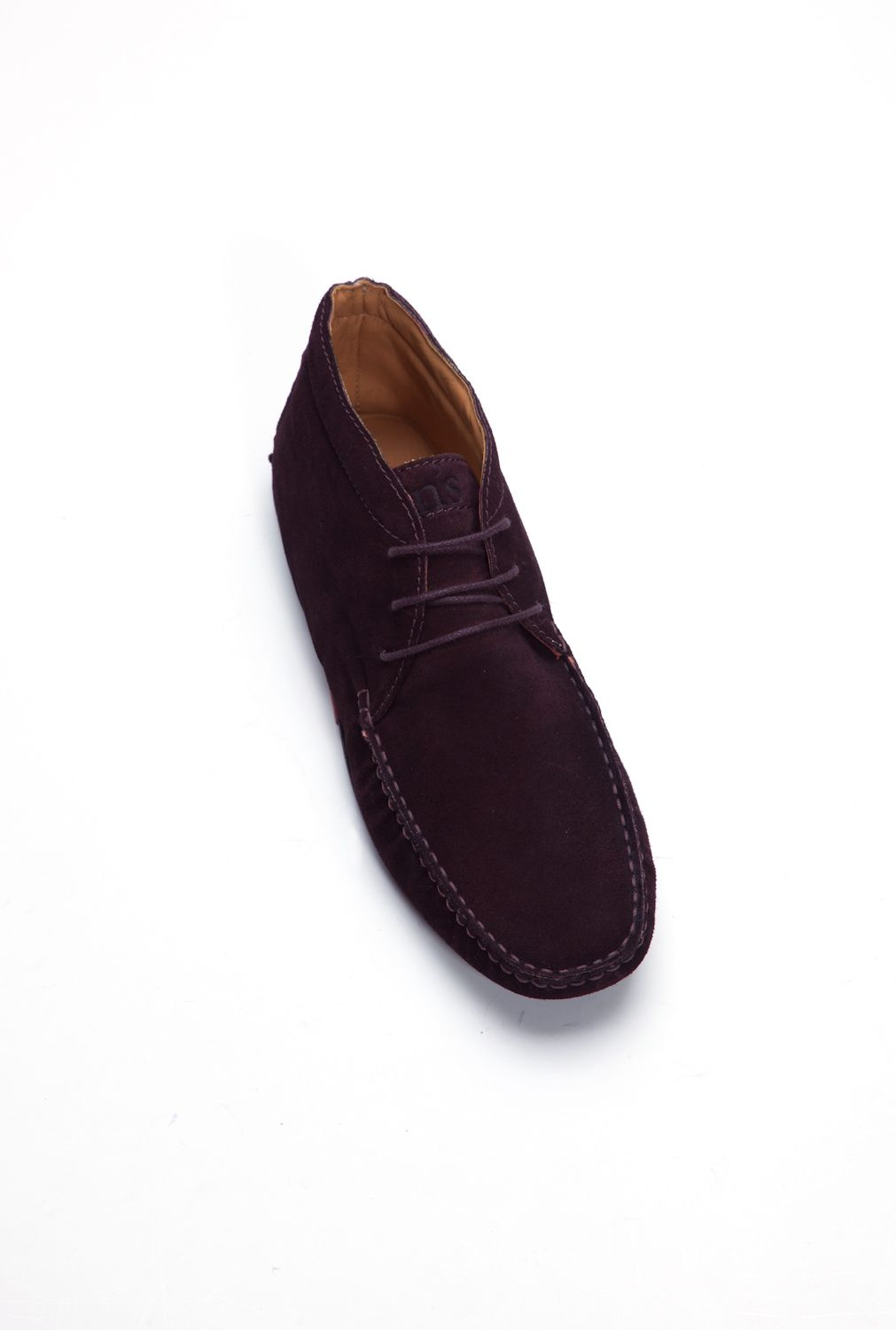 Theadore purple moccasin boots
