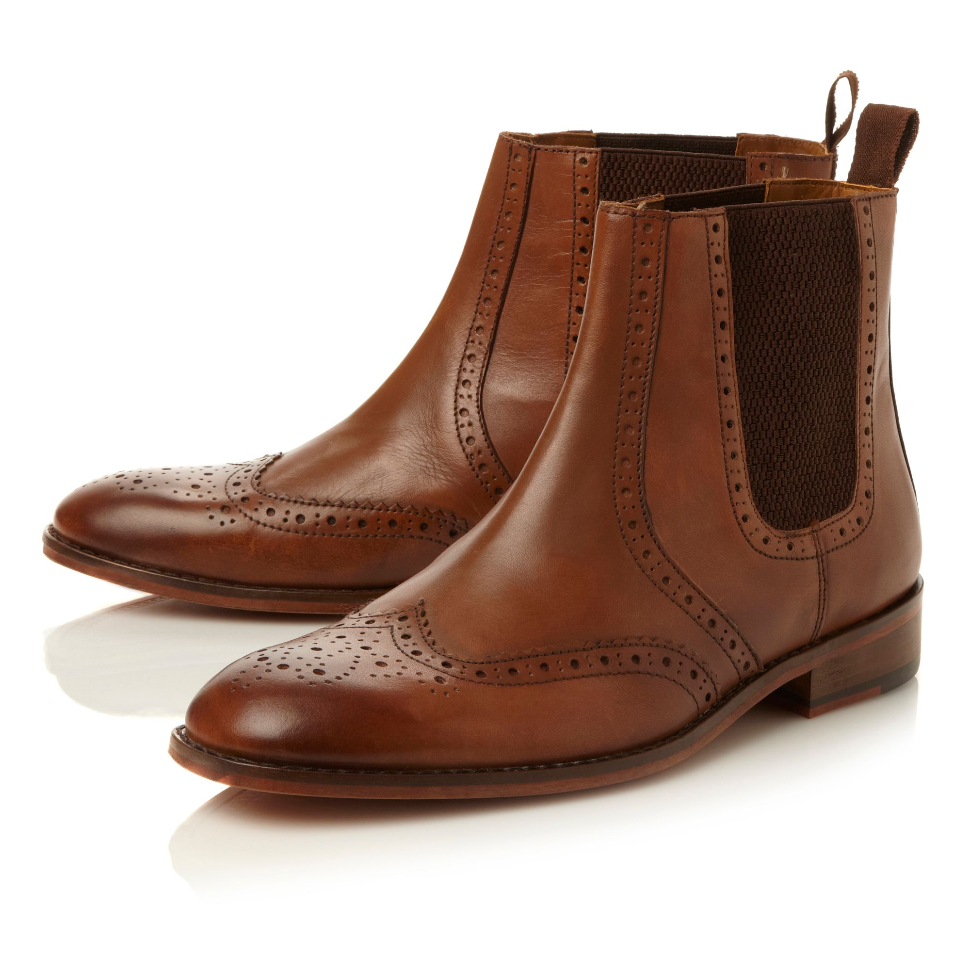 Montagu brogue chelsea boot
