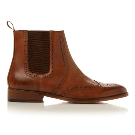 Roland Cartier Montagu brogue chelsea boot