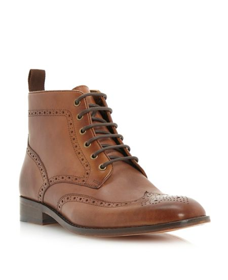 Roland Cartier Marylebone brogue lace boot
