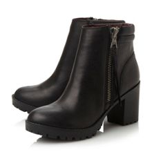 Norway cleated lace up low boots