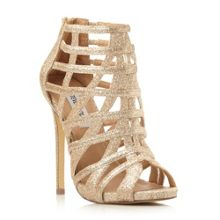 Marquee caged heel sandals