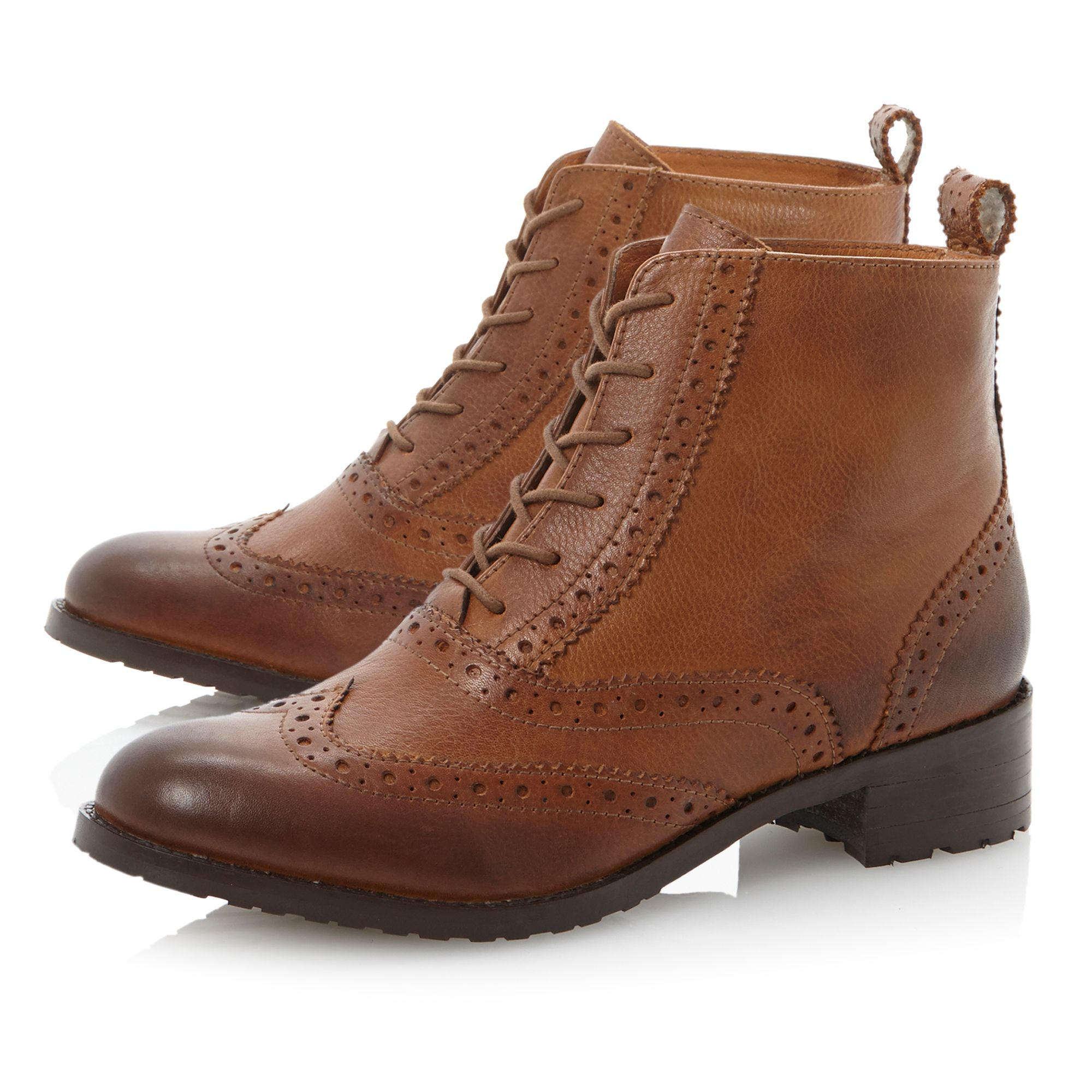 Peron brogue shoe boots