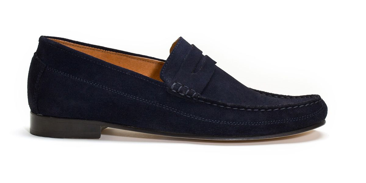 Marshall navy loafers