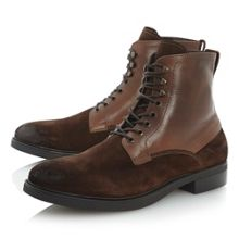 Chesterfield-heavy military boot
