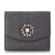 Bilaro brooch detail clutch bag