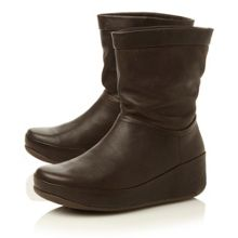 Crush Leather-leather slouch boots