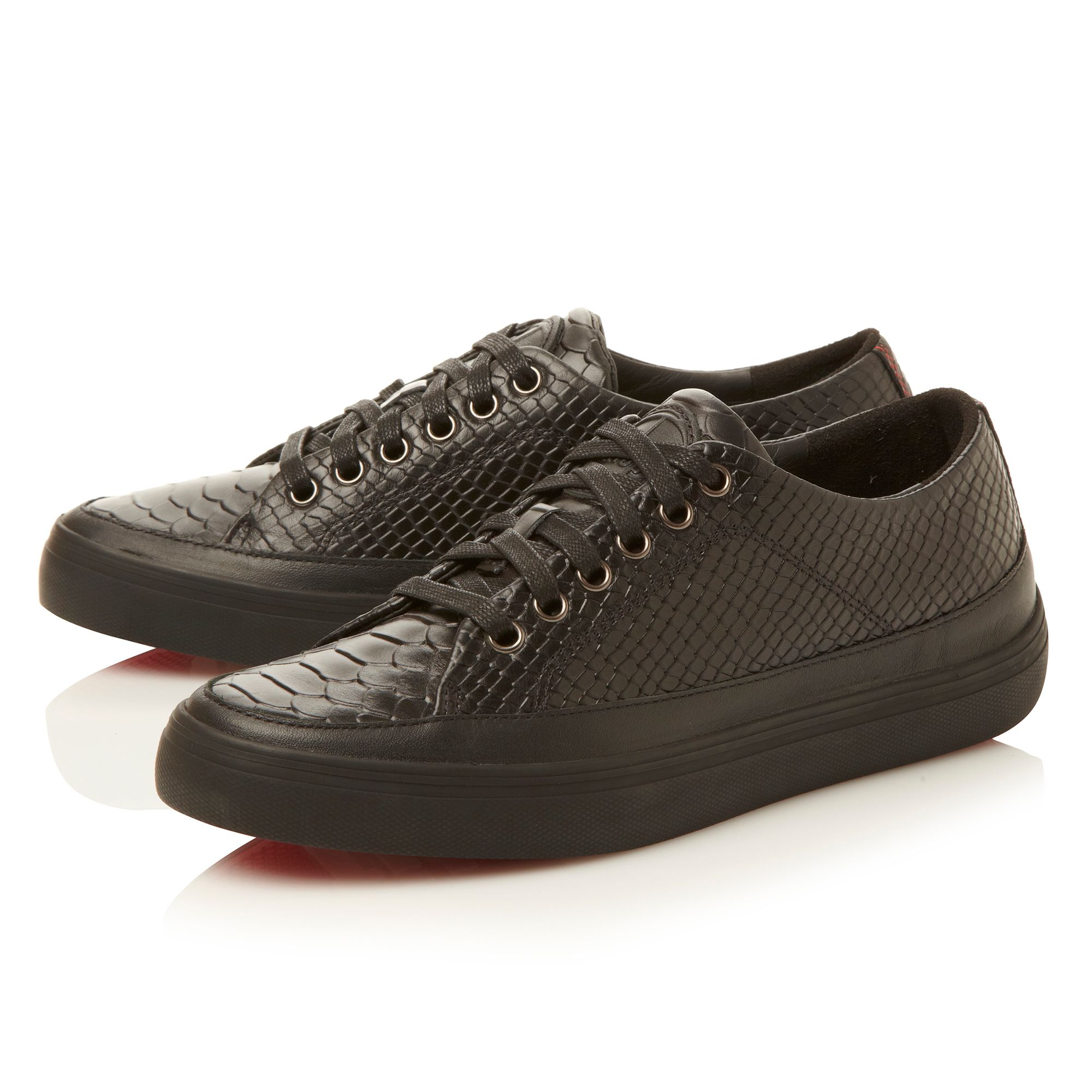 Super T Snake embossed snake trainer shoes