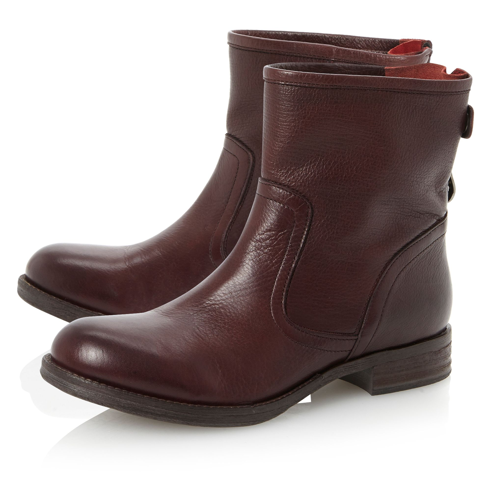 Pyrena ankle boots with bellows