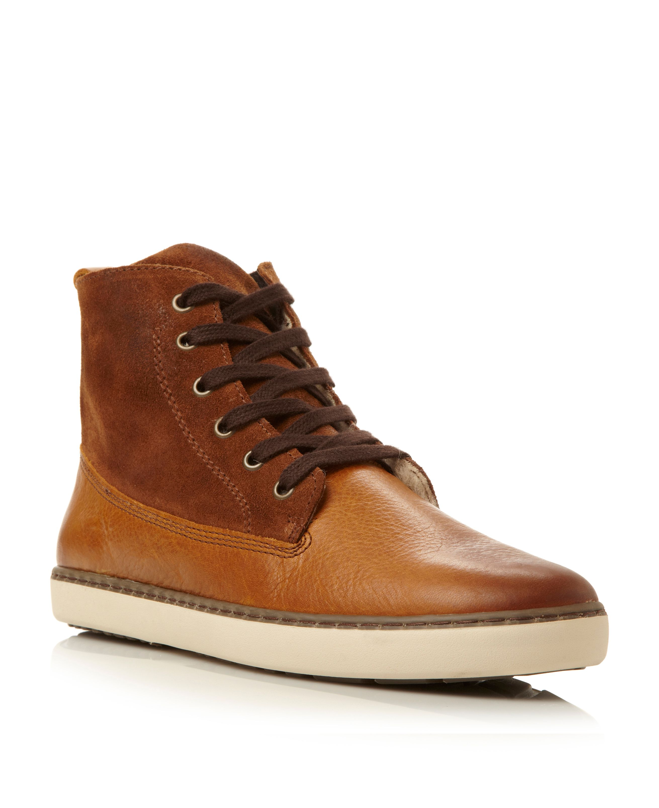 Springfield warm lined hi top boot