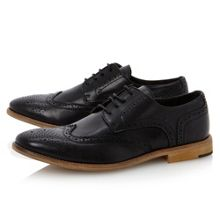 Bertie Aston Plain brogue lace up
