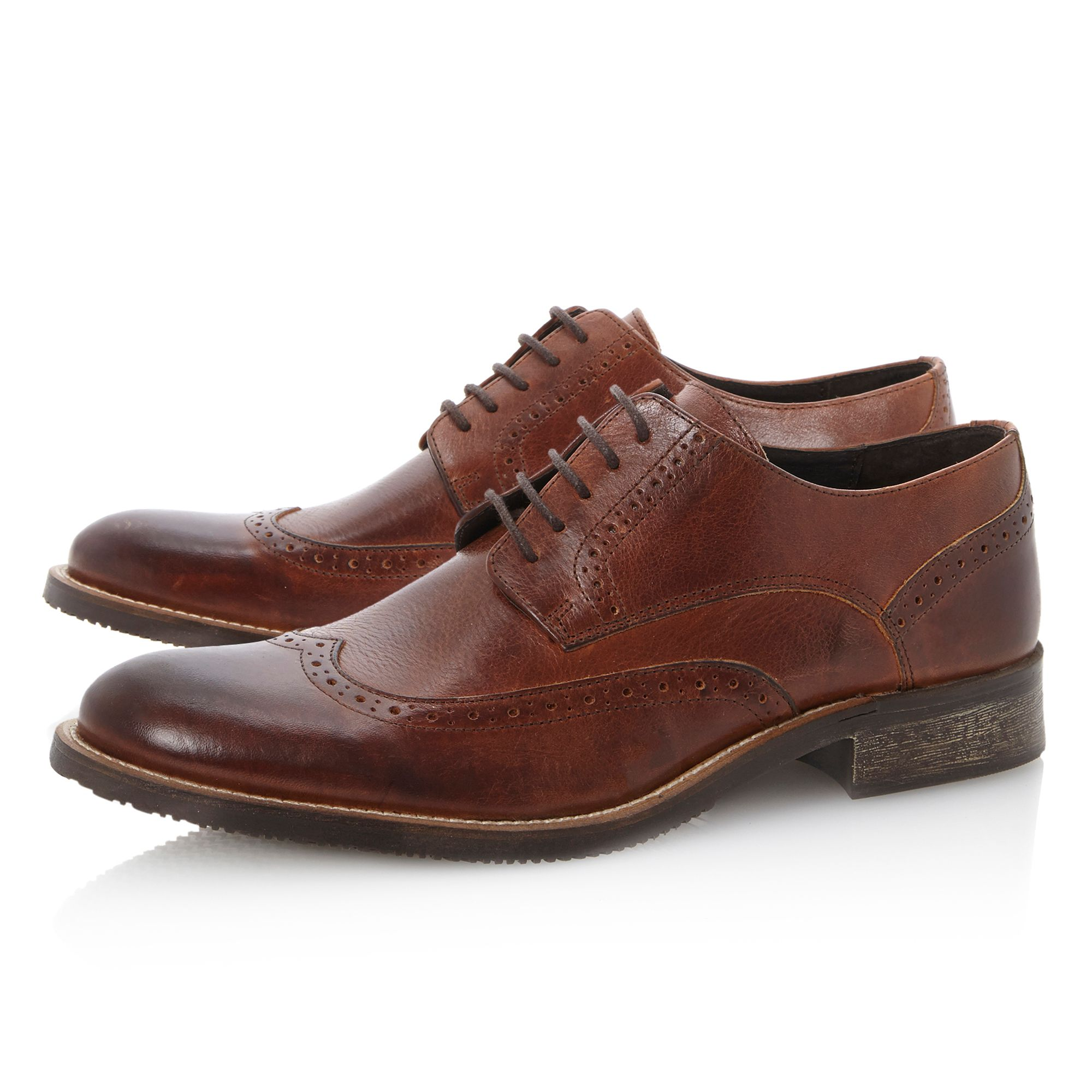 Bellair wingtip brogue gibson shoes