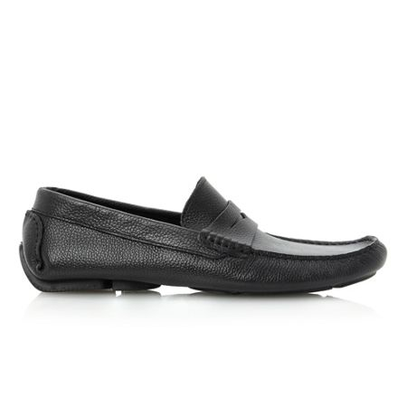 Dune Benny penny saddle driver shoes