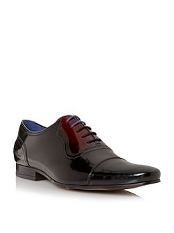 Reidar two tone leather oxford shoes