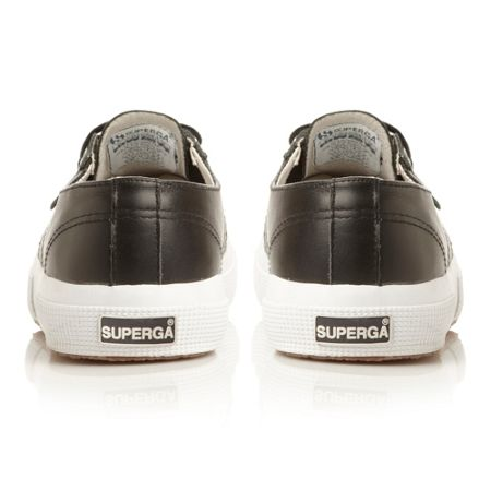 Superga S001Tt0-leather laceup pump shoes