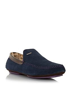 Maddox warm lined loafer slippers