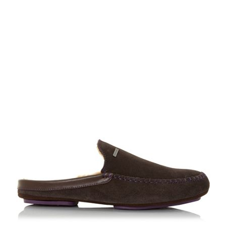 Dune Parkor warm lined mule slippers
