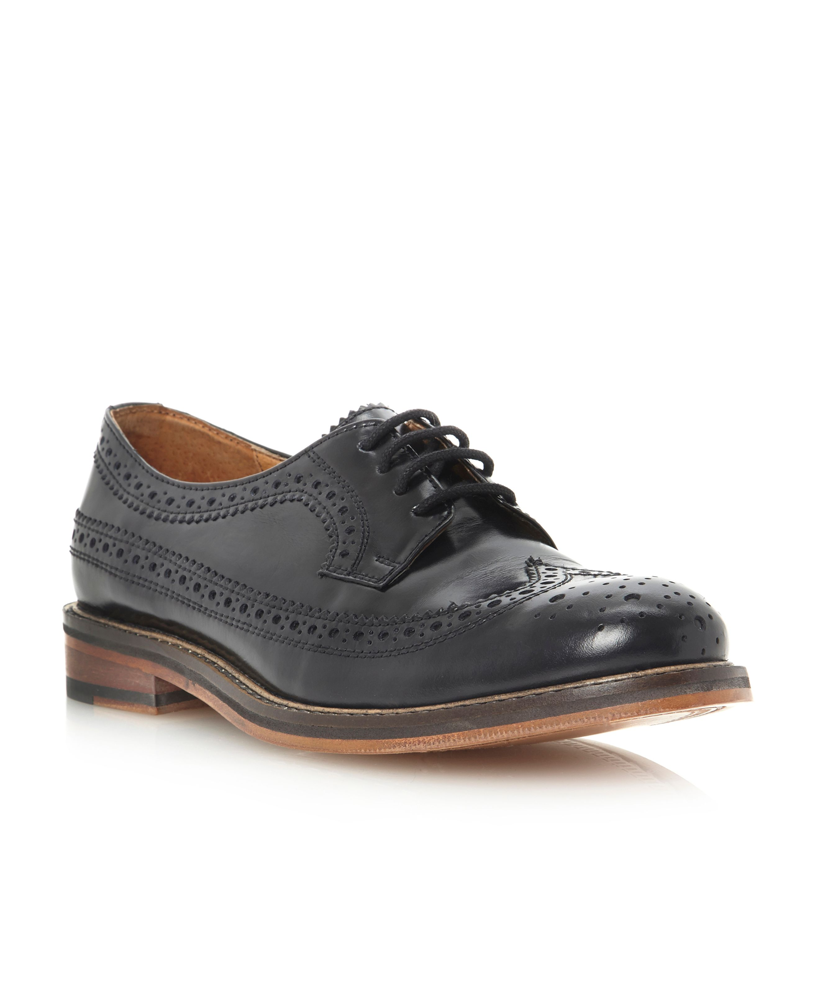 Lessing lace up brogue shoes