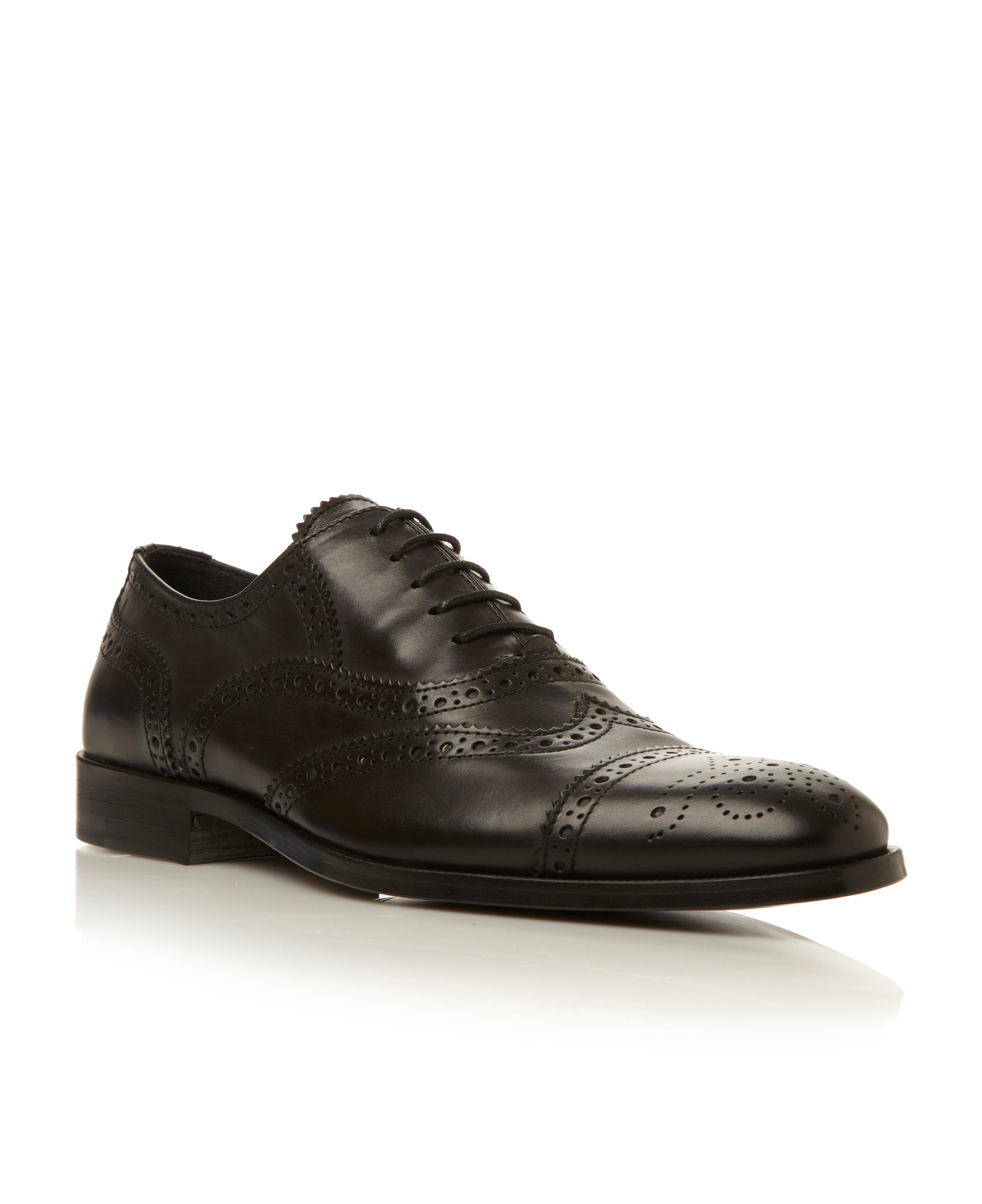 Brake 1 wingtip brogue lace up shoes