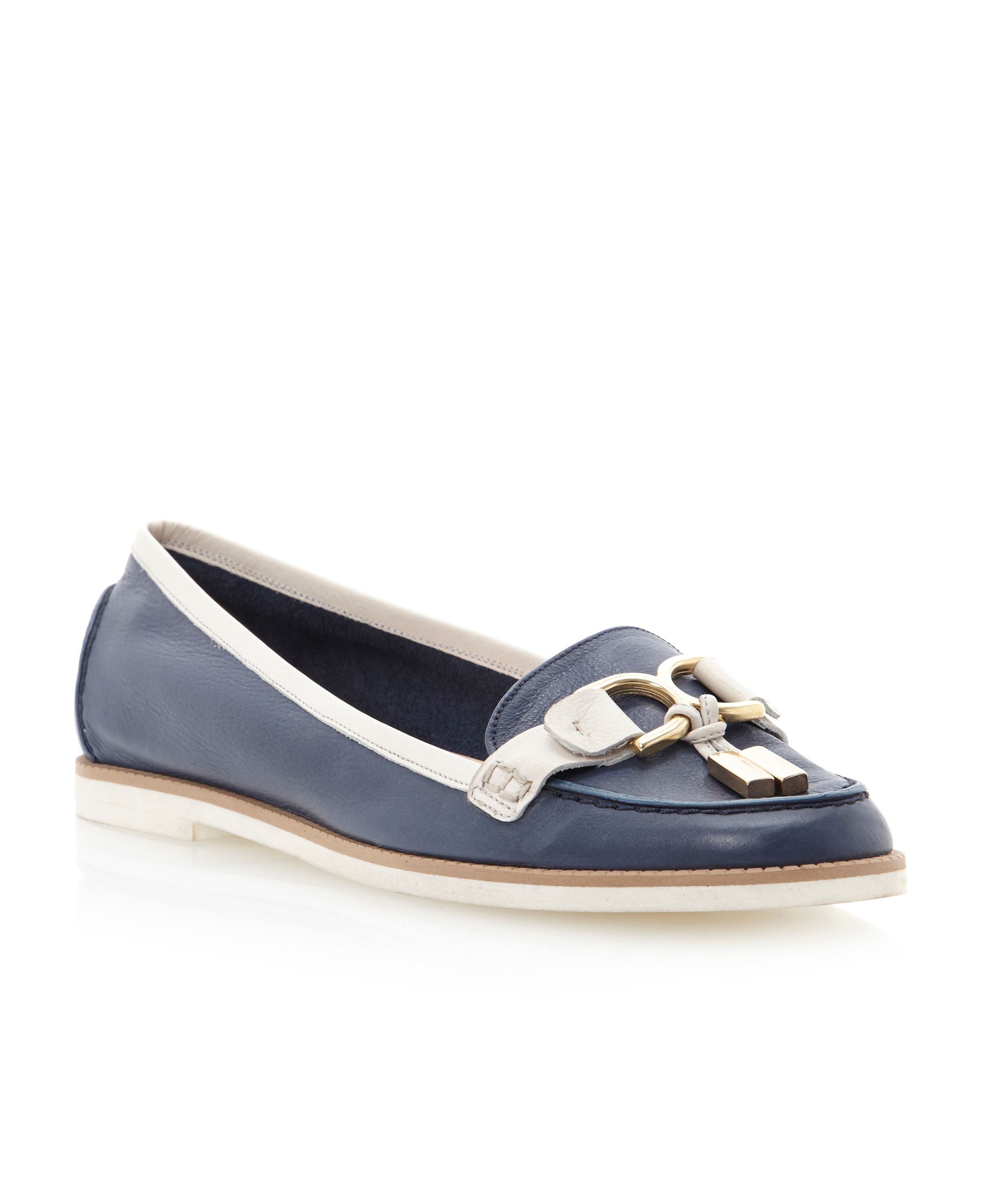 Luba metal trim eva loafer shoes
