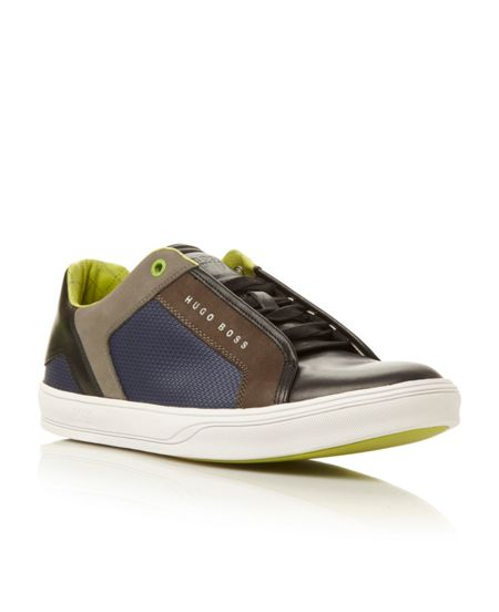 Hugo Boss Attain concealed gillie lace sneaker