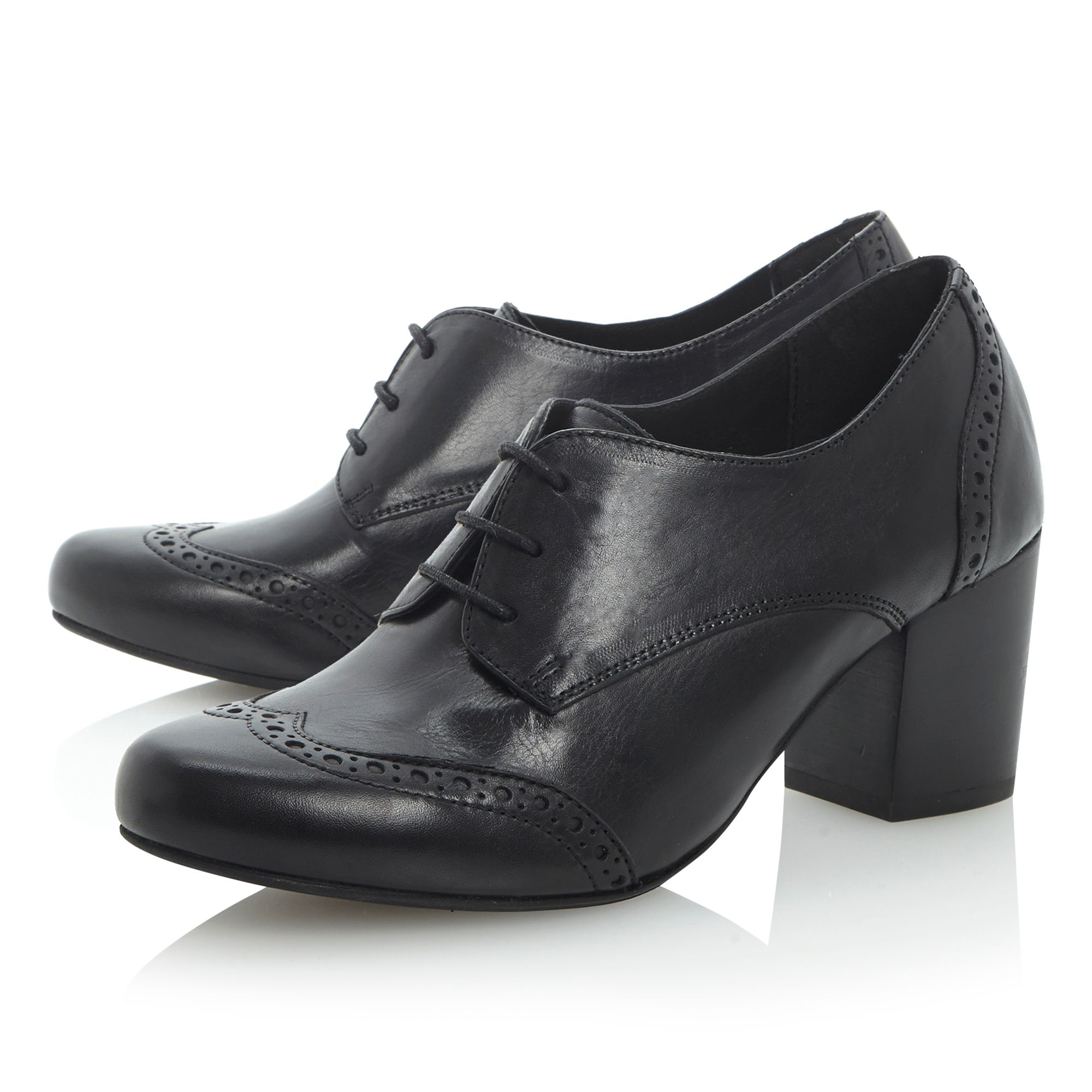 Abada laceup town court shoes