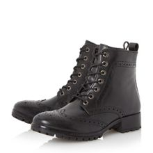 Dune Persia brogues leather ankle boots