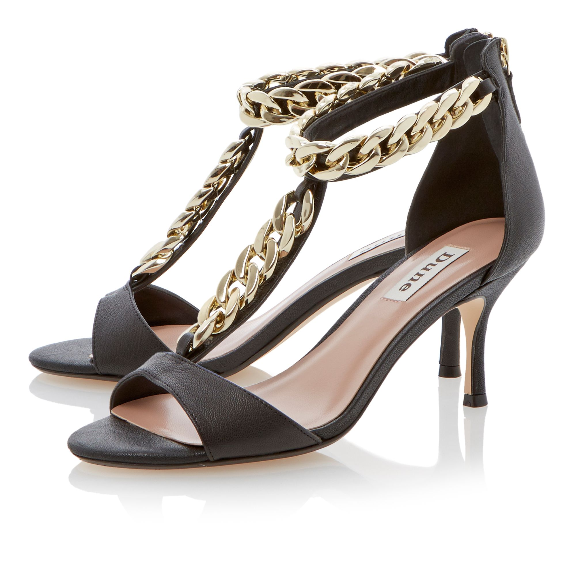 Heroine chain t-bar sandals
