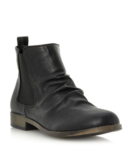 Head Over Heels Prezley flat chelsea boots