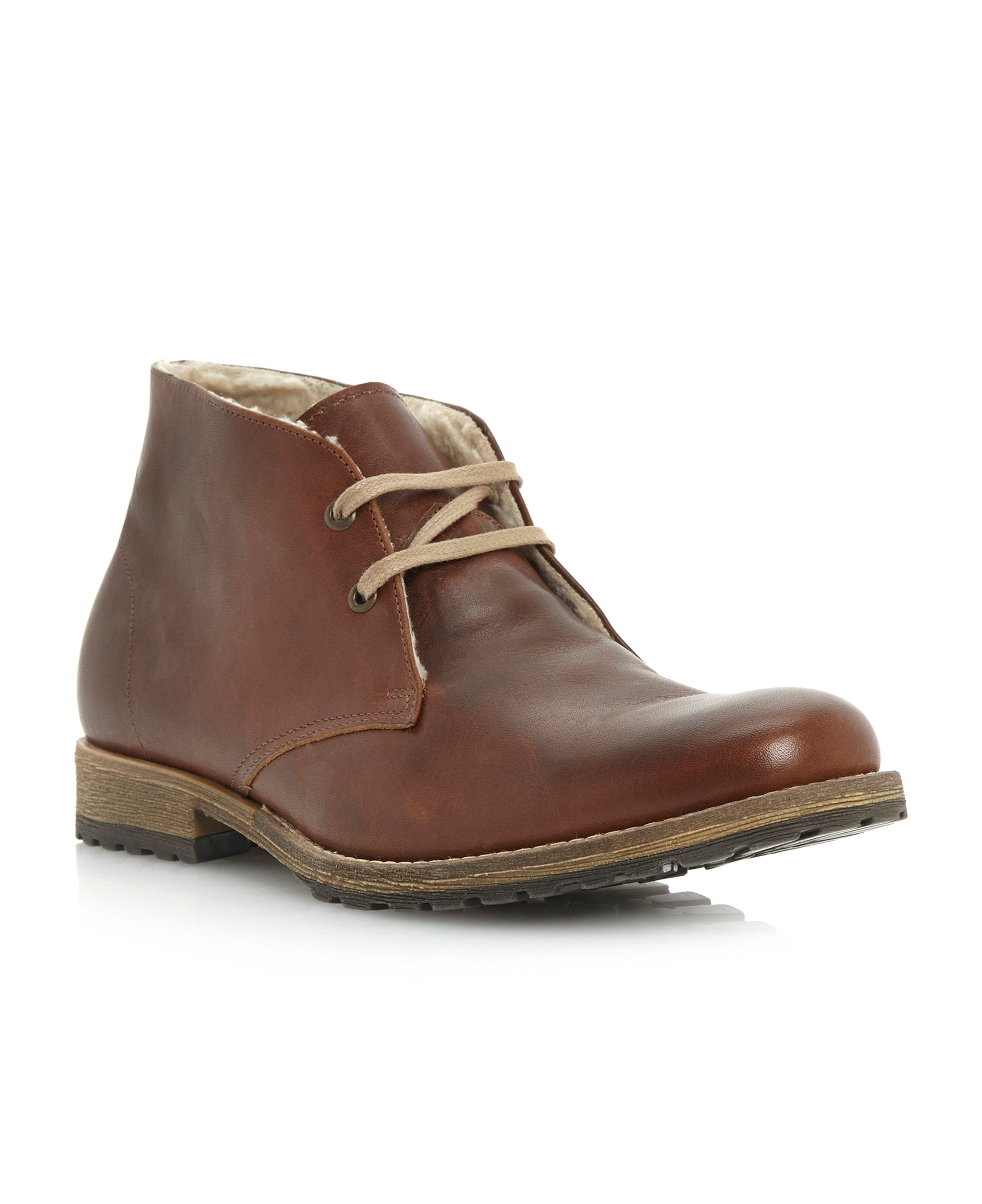 Columbo warm lined 2 eye chukka
