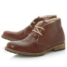 Dune Columbo warm lined 2 eye chukka