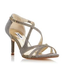Dune Marilyn strappy metal tip sandals
