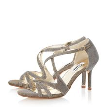 Marilyn strappy metal tip sandals