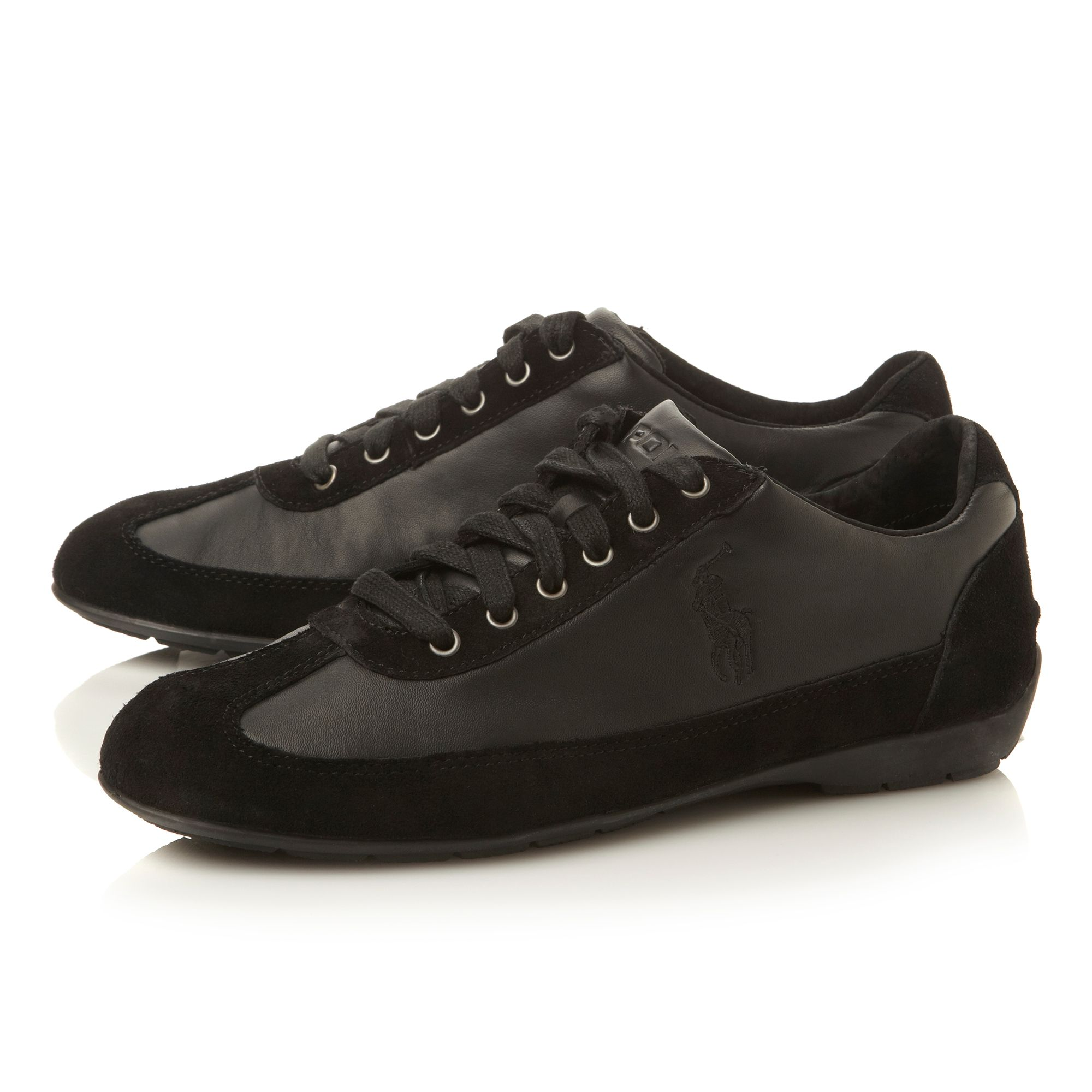 Lisson lace up sleek wingtip sneakers