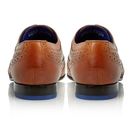 Ted Baker Cirek 2 punch hole detail lace up brogue