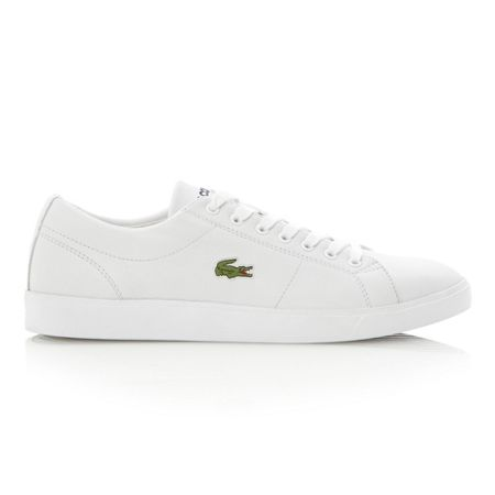 Lacoste Marcel cup sole logo leather trainer