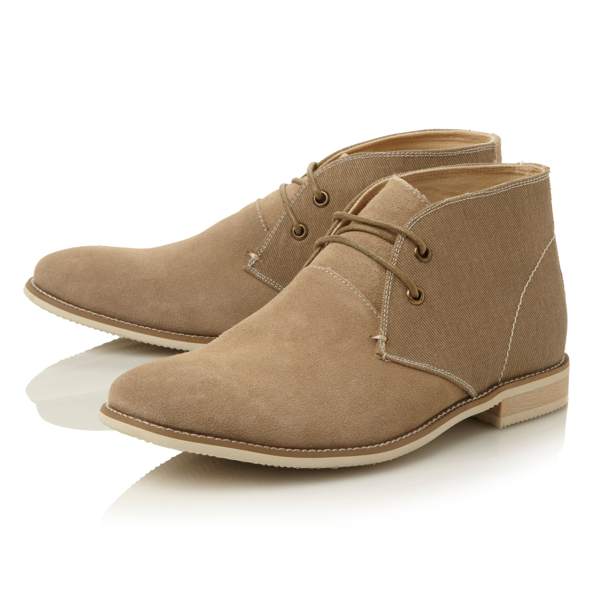 Savantt suede desert boot