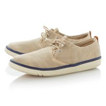 5843r lace up unlined canvas shoes