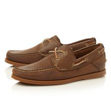 6306a lace up 2 eye boat shoes