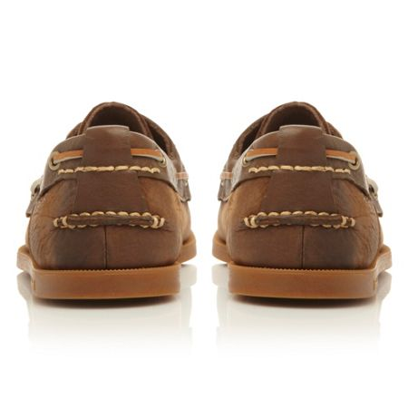 Timberland 6306a lace up 2 eye boat shoes