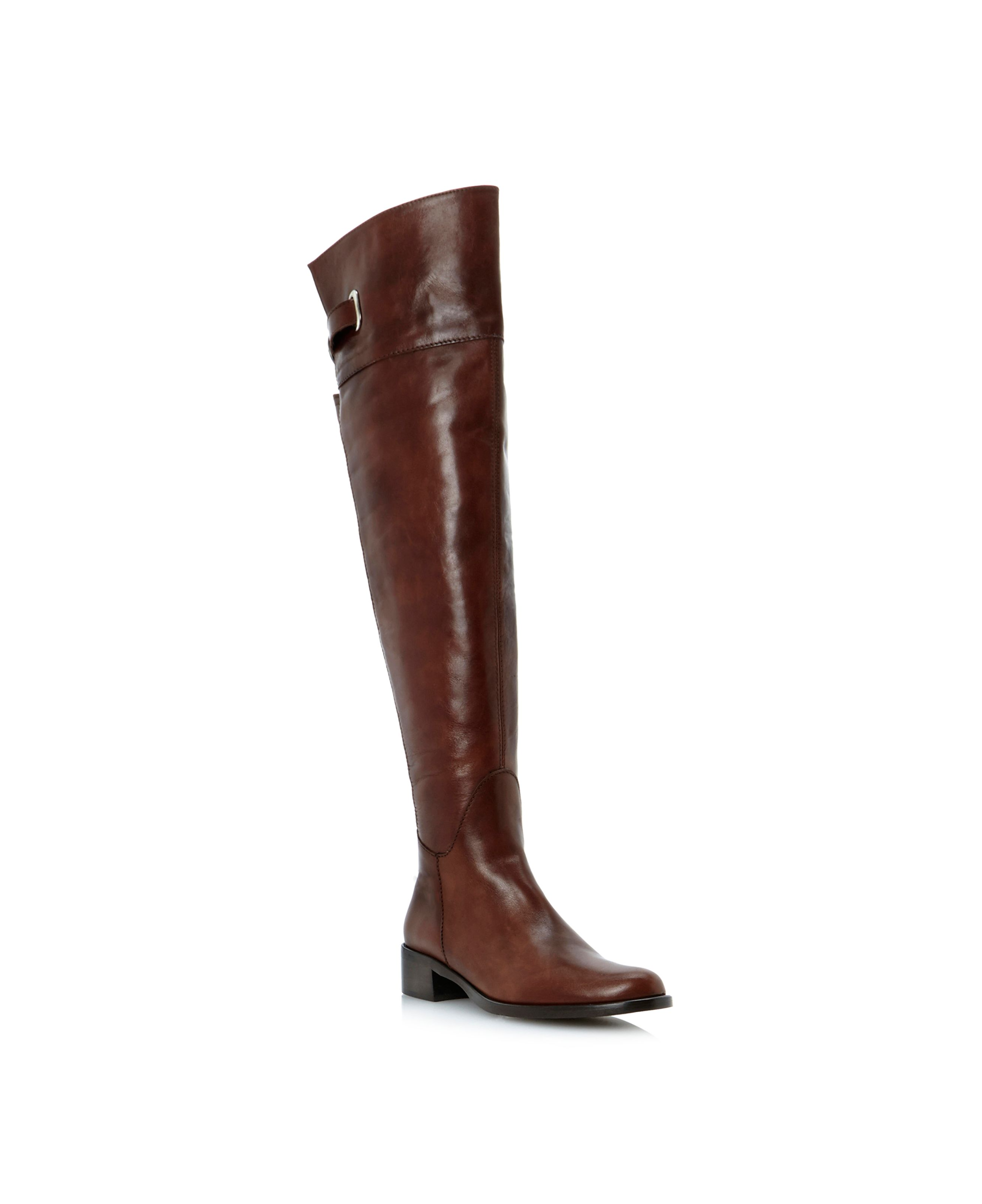 Parlerp over the knee elastic riding boots
