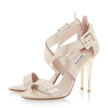 Melisa crossover strap stiletto sandals