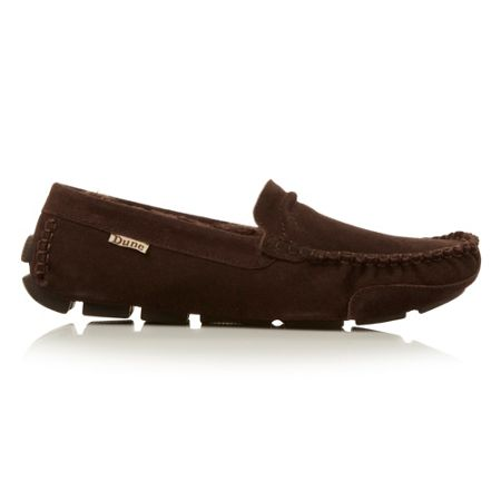 Freddie Faux Fur Lined Slip On Casual Slippers