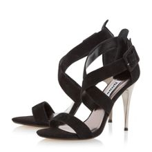 Dune Melisa crossover strap stiletto sandals