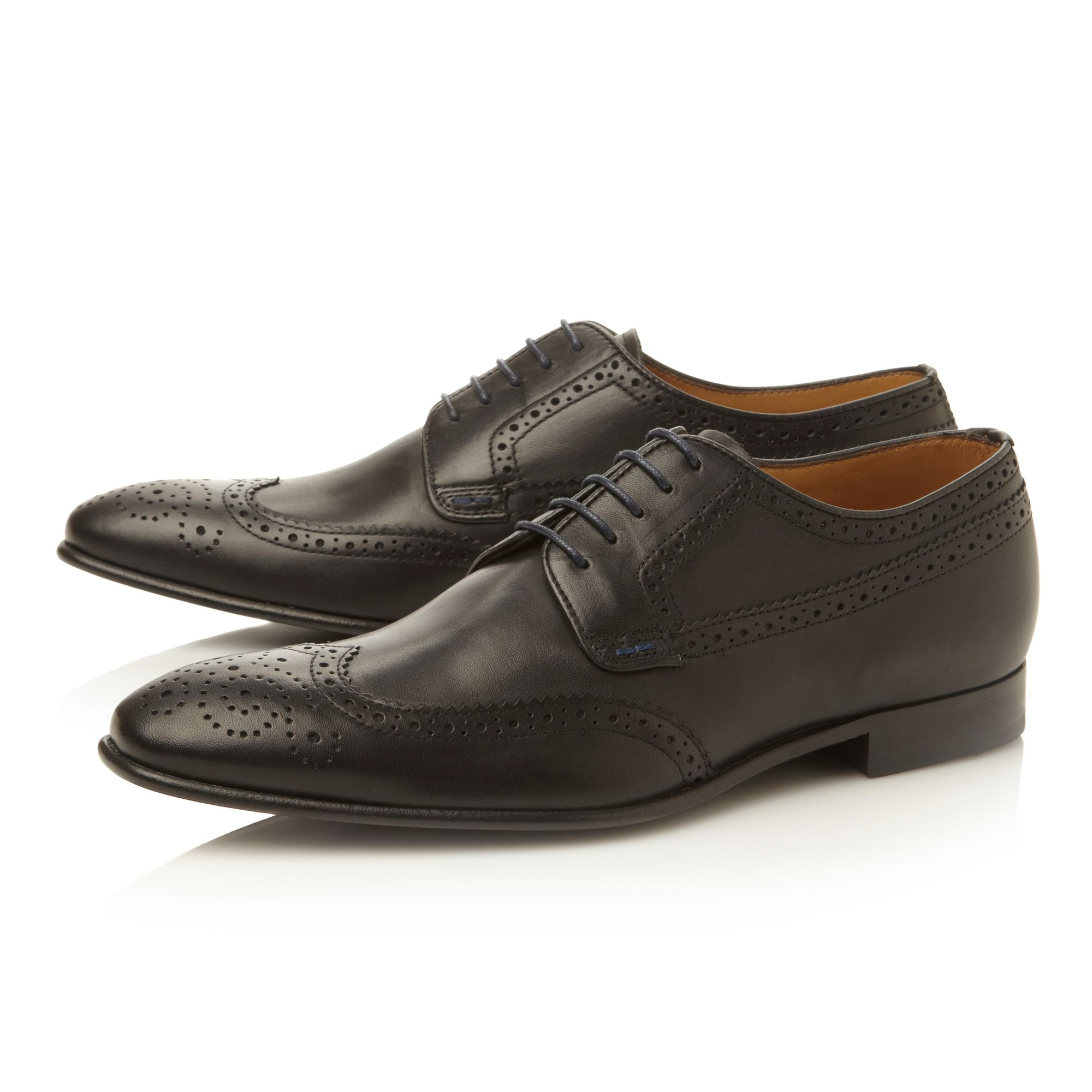Franz lace up wingtip brogue gibson shoes