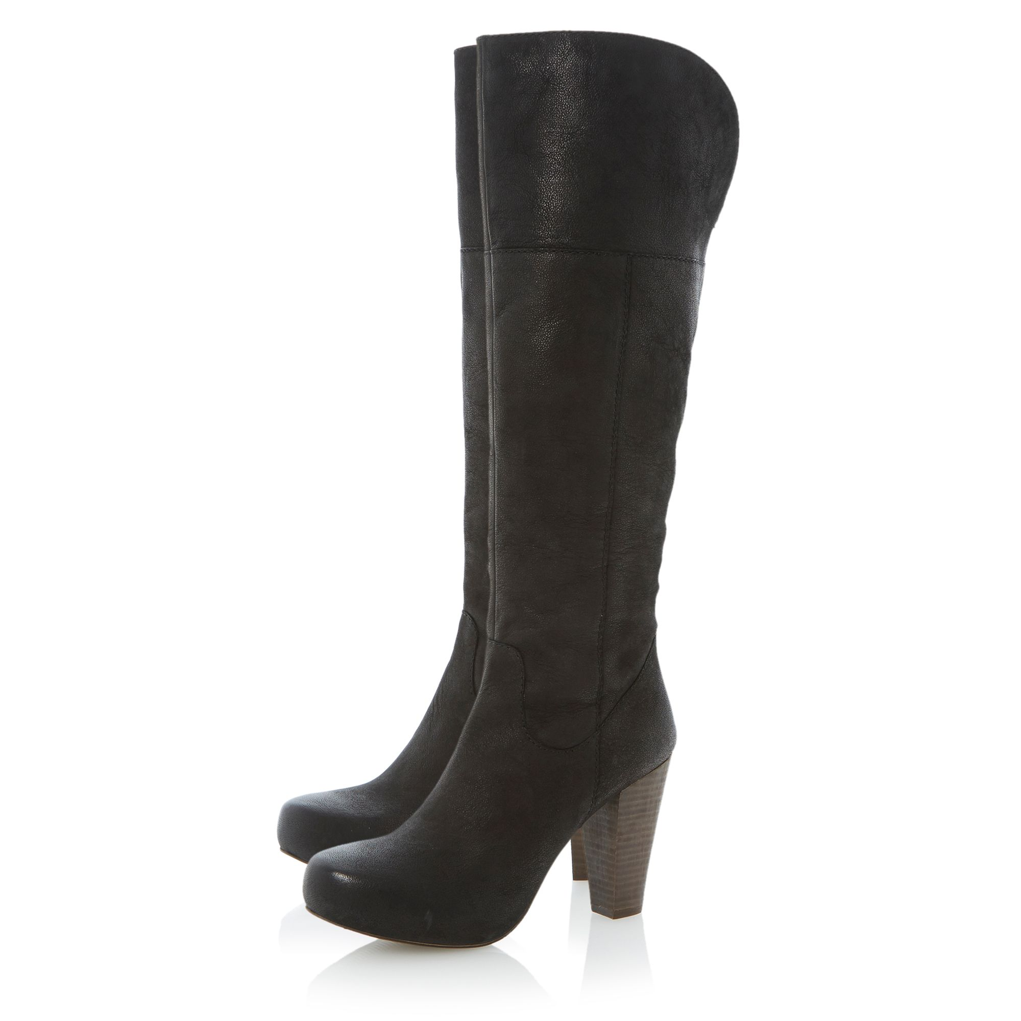 Rocket over the knee leather boots