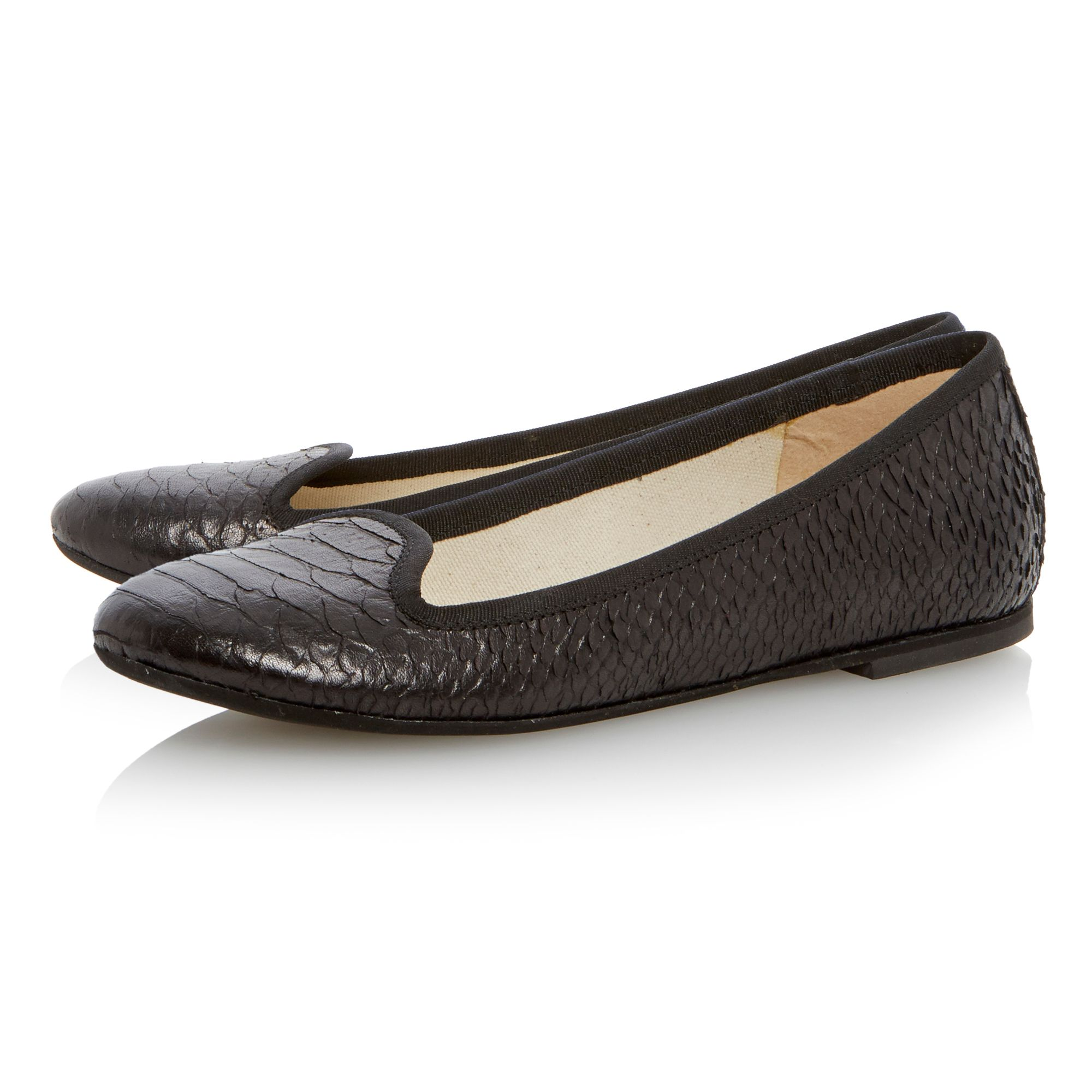 Lariano slipper cut loafer shoes