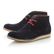 Arthur15b lace up wedge sole 2 eye bootys
